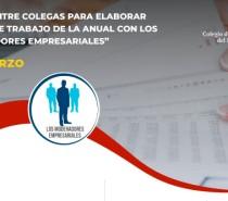 """PLATICA ENTRE COLEGAS PARA ELABORAR PAPELES DE TRABAJO DE LA ANUAL CON LOS  """"MODERADORES EMPRESARIALES"""""""