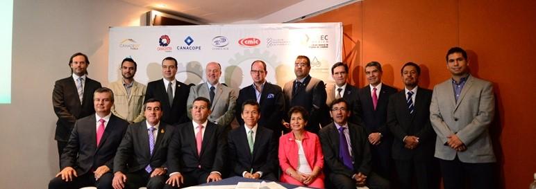 Reunión con el Consejo Coordinador Empresarial de Puebla