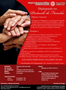 Invitación Diplomado Protocolo de Familia