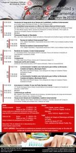 Invitación Semana de Contabilidad y Auditoría Gubernamental