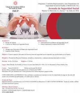 Invitación Jornada de Seguridad Social 2016_