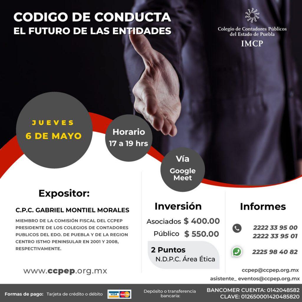 Código de Conducta el futuro de las entidades