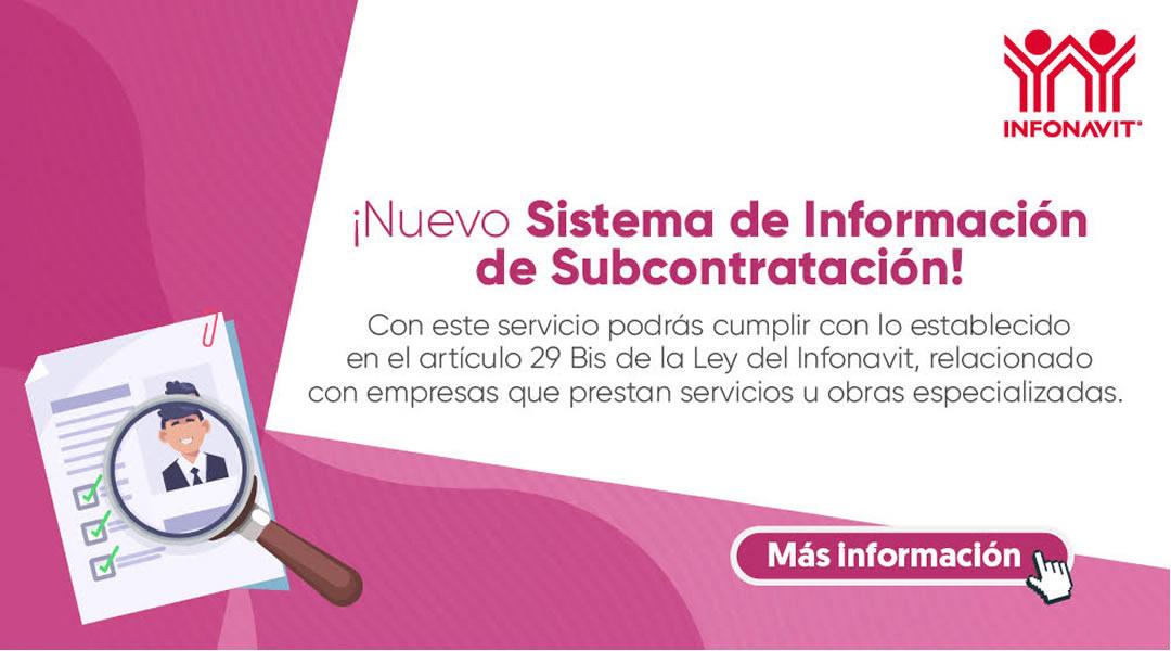 Sistema de informacion de subcontratacion