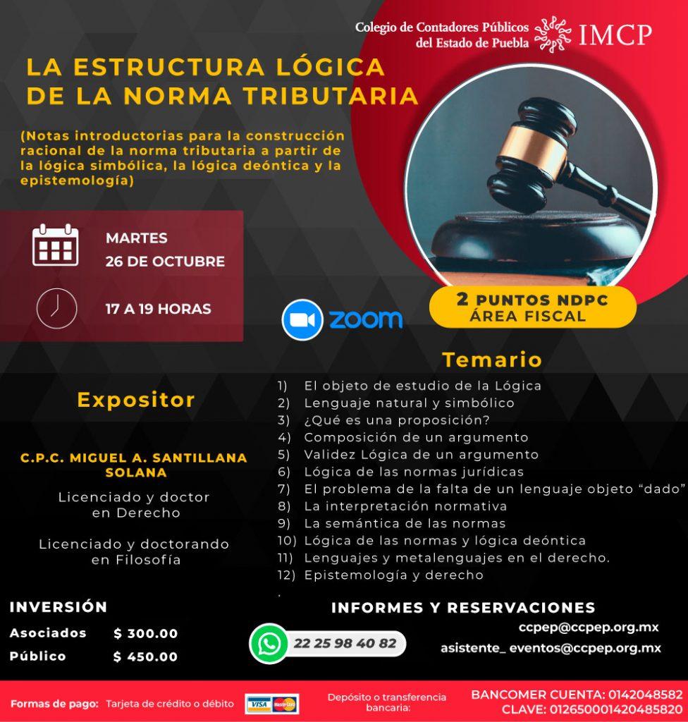 LA ESTRUCTURA LÓGICA DE LA NORMA TRIBUTARIA